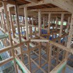 小湊の家『建て方~屋根工事~断熱工事』