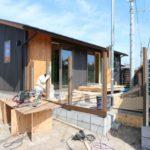 中山の家『デッキ・木塀工事』