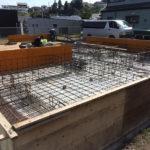 宇宿の家 木造3階建て『地鎮祭・地盤改良工事・基礎工事』